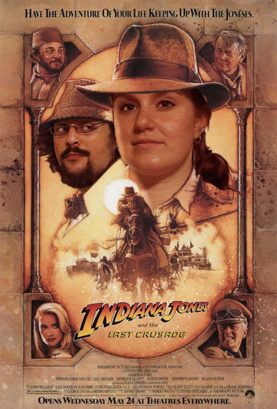 indiana jones engagement photo