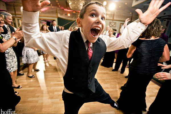 dancing ring bearer