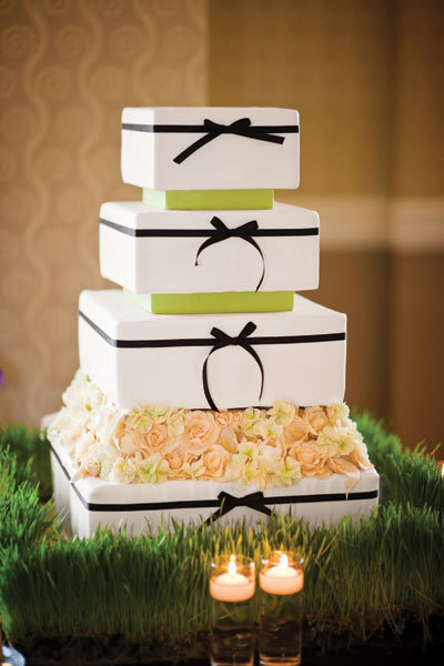 10 unique wedding cakes we love bridalguide photo credit nick brown junglespirit Gallery