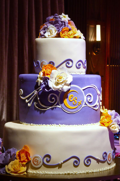purple and orange wedding cake ideas 10 unique wedding cakes we bridalguide 18864