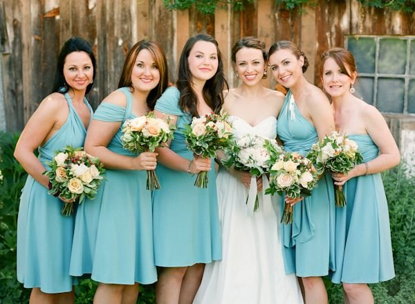 aquamarine wedding