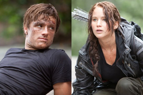 peeta and katniss hunger games