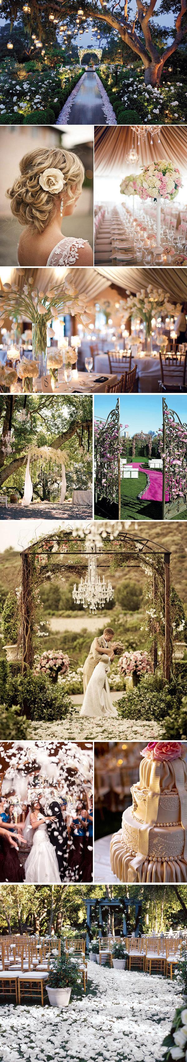 romantic wedding style
