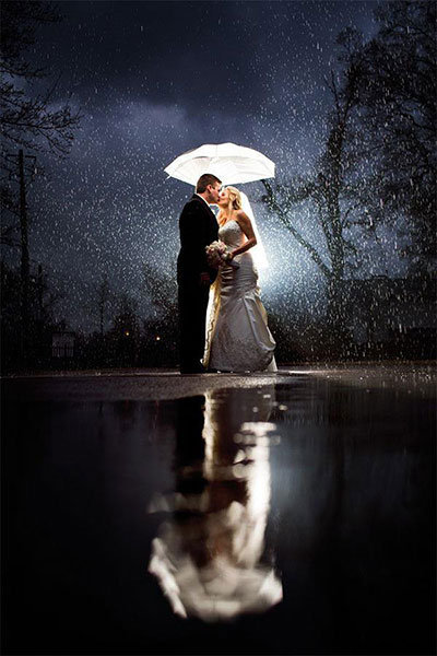How to Make the Most of a Rainy Wedding Day | BridalGuide