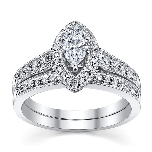 robbins brothers snowflake engagement ring