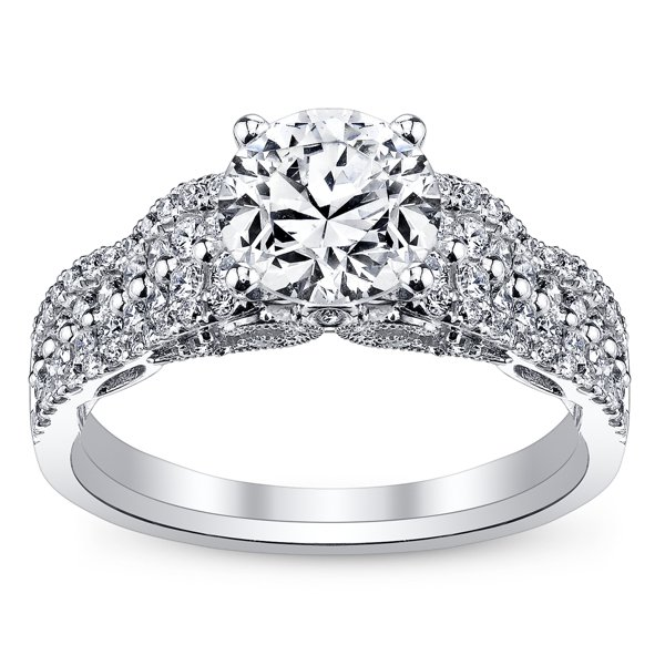 robbins brothers tiara engagement ring