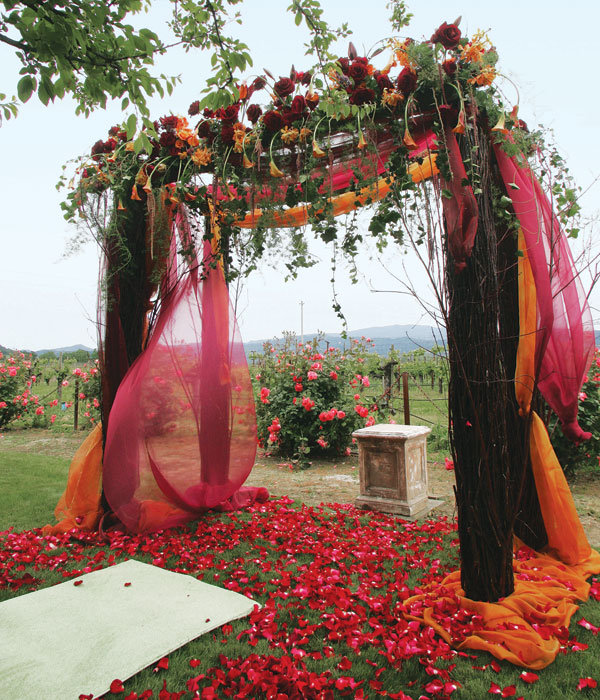 Outdoor Fall Wedding Decorations Ideas: All About Color: Finding Your Perfect Wedding Color