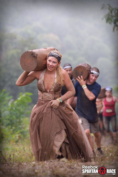 A Real Wedding at the Spartan Race | BridalGuide