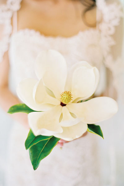 Top 10 flowers for spring weddings bridalguide magnolia bridal bouquet mightylinksfo Image collections