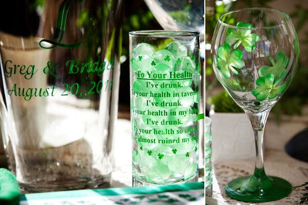 Gorgeous St. Patrick\'s Day Wedding Inspiration | BridalGuide