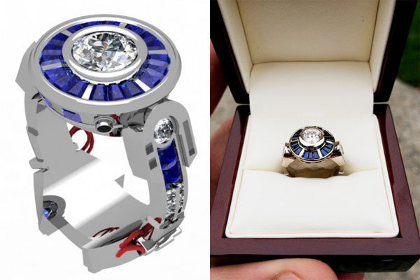star wars r2d2 engagement ring