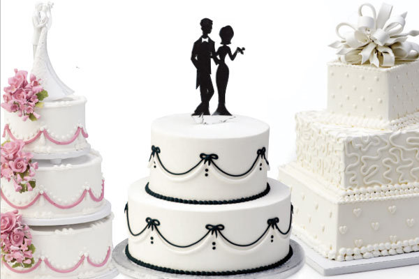 giant grocery wedding cakes
