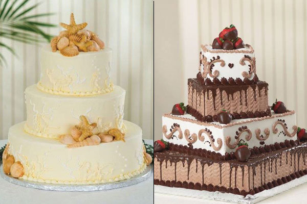 Beautiful wedding cakes for young: Publix bakery for wedding