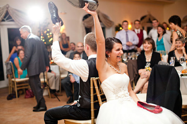Fun Reception Idea: The Shoe Game