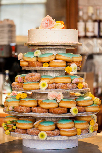 Non Traditional Tiered Desserts Bridalguide