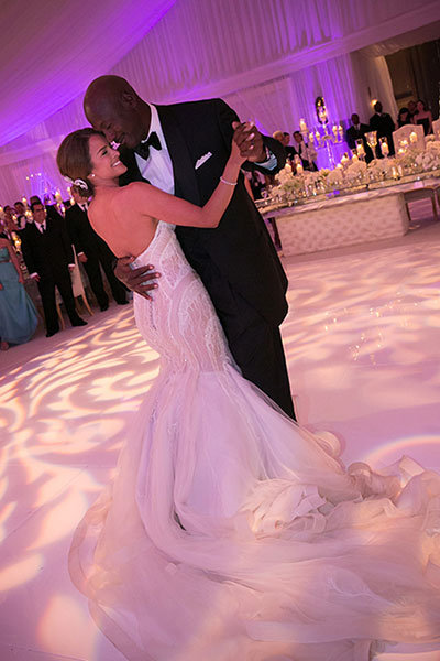 michael jordan yvette prieto wedding