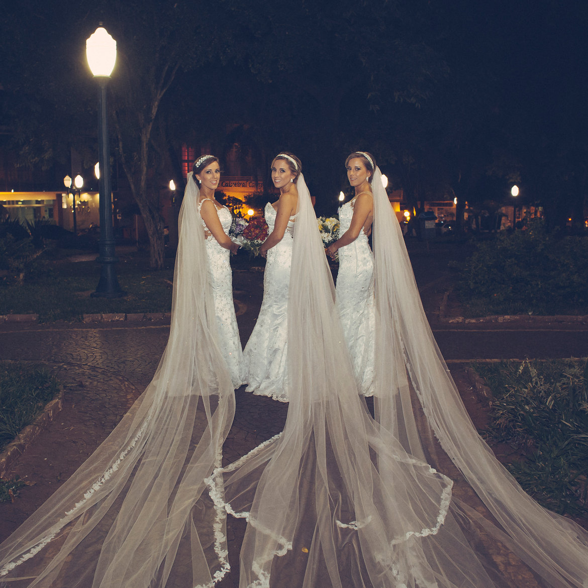 triplet wedding