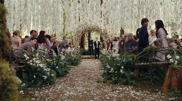 twilight breaking dawn wedding