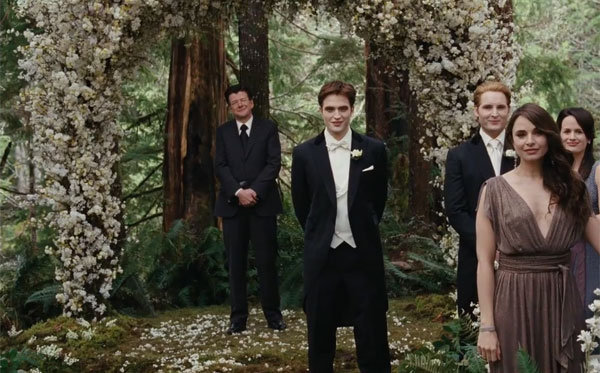 inside the twilight breaking dawn wedding bridalguide