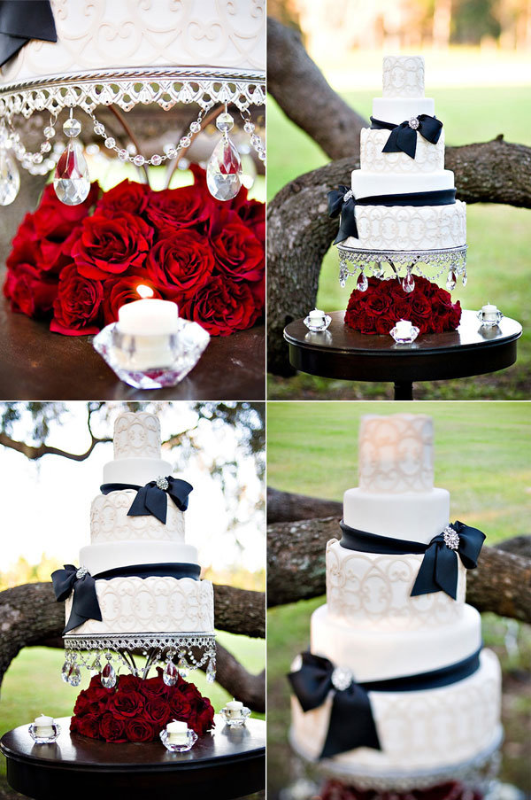 twilight wedding cake