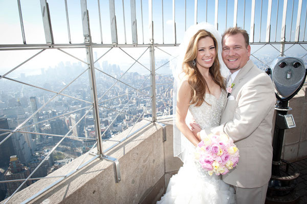 Real Weddings On Top Of The Empire State Building