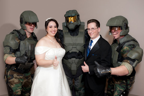 halo theme wedding