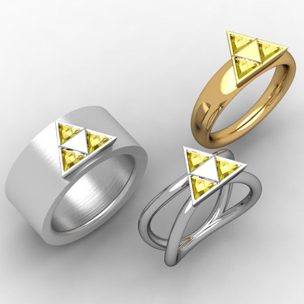 zelda engagement ring wedding band