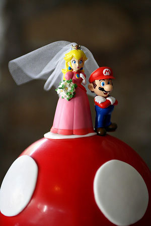 mario bros wedding cake themed weddings bridalguide 17142