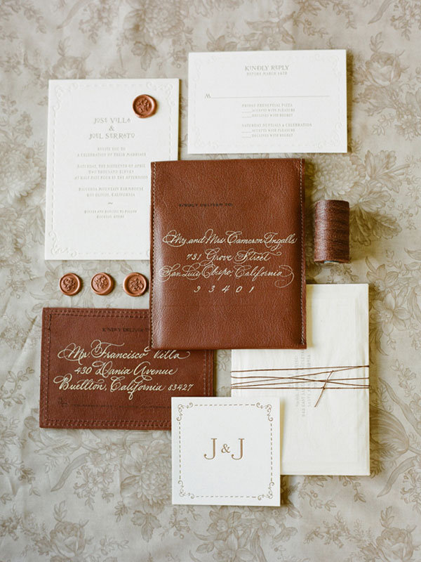 Top 5 wedding invitation trends bridalguide the days of generic paper design are over there are plenty of ways to make your invite even more awesome and im here to show you how to do that stopboris Image collections