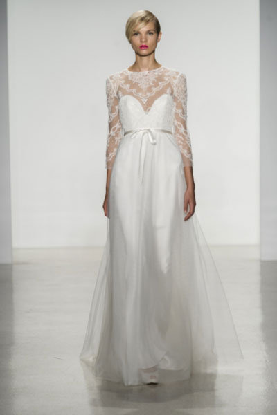 Non-Strapless Wedding Gowns are Back! | BridalGuide