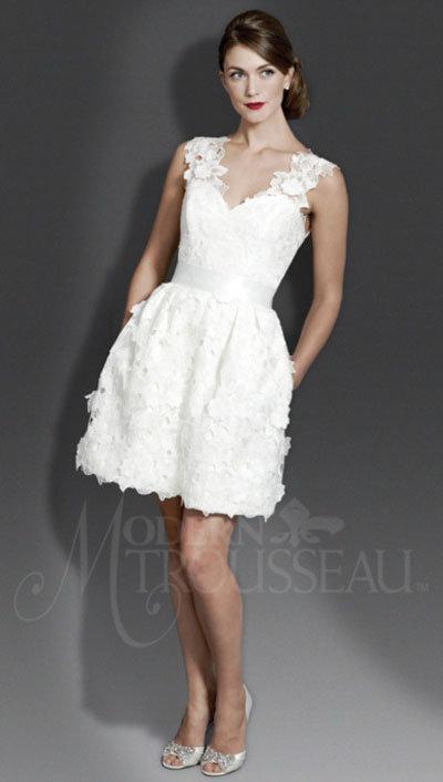 Modern Trousseau Wedding Gown