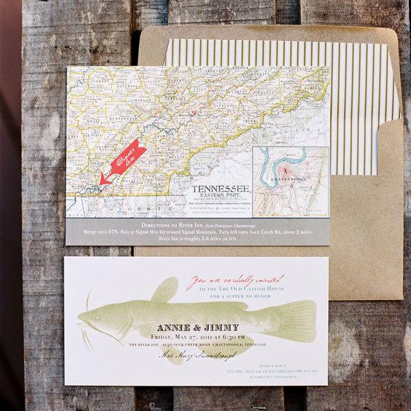 Fishing Wedding Ideas: 10 Fun New Ideas For Your Wedding Invitations