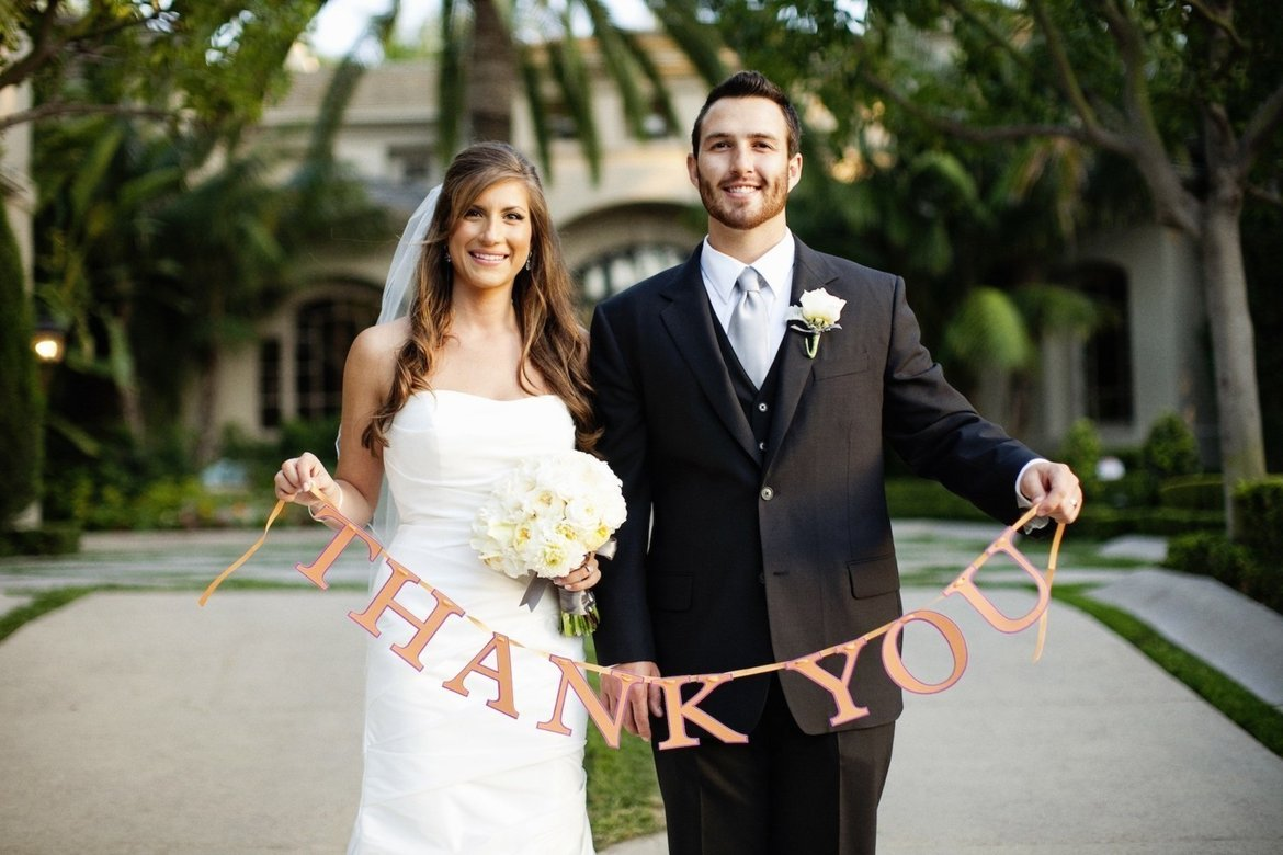 20 Fun Ideas for Your ThankYou Cards – Picture Wedding Thank You Cards