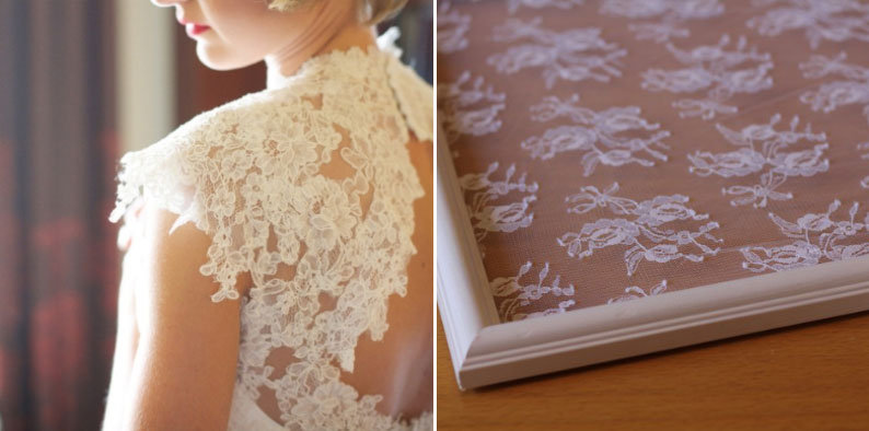 What to do with your dress after your wedding bridalguide for Frame your wedding dress
