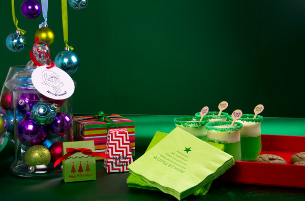 grinch theme holiday party