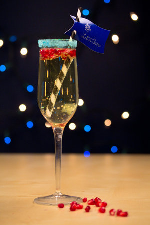 new years eve cocktail idea