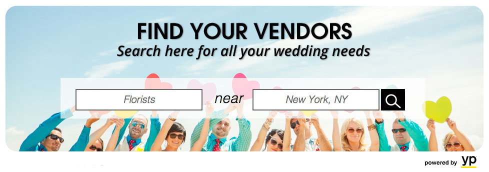 find your vendors