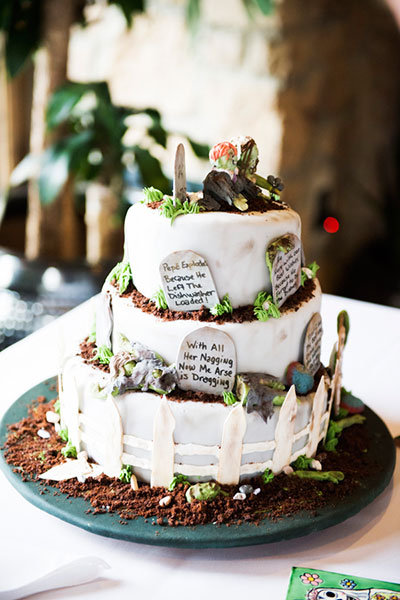 Zombie Wedding Ideas Inspired By Walking Dead Bridalguide