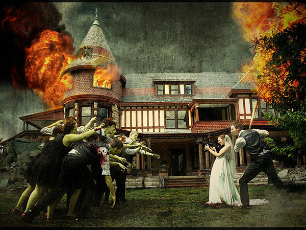 Zombie Wedding Ideas Inspired By Walking Dead Bridalguide