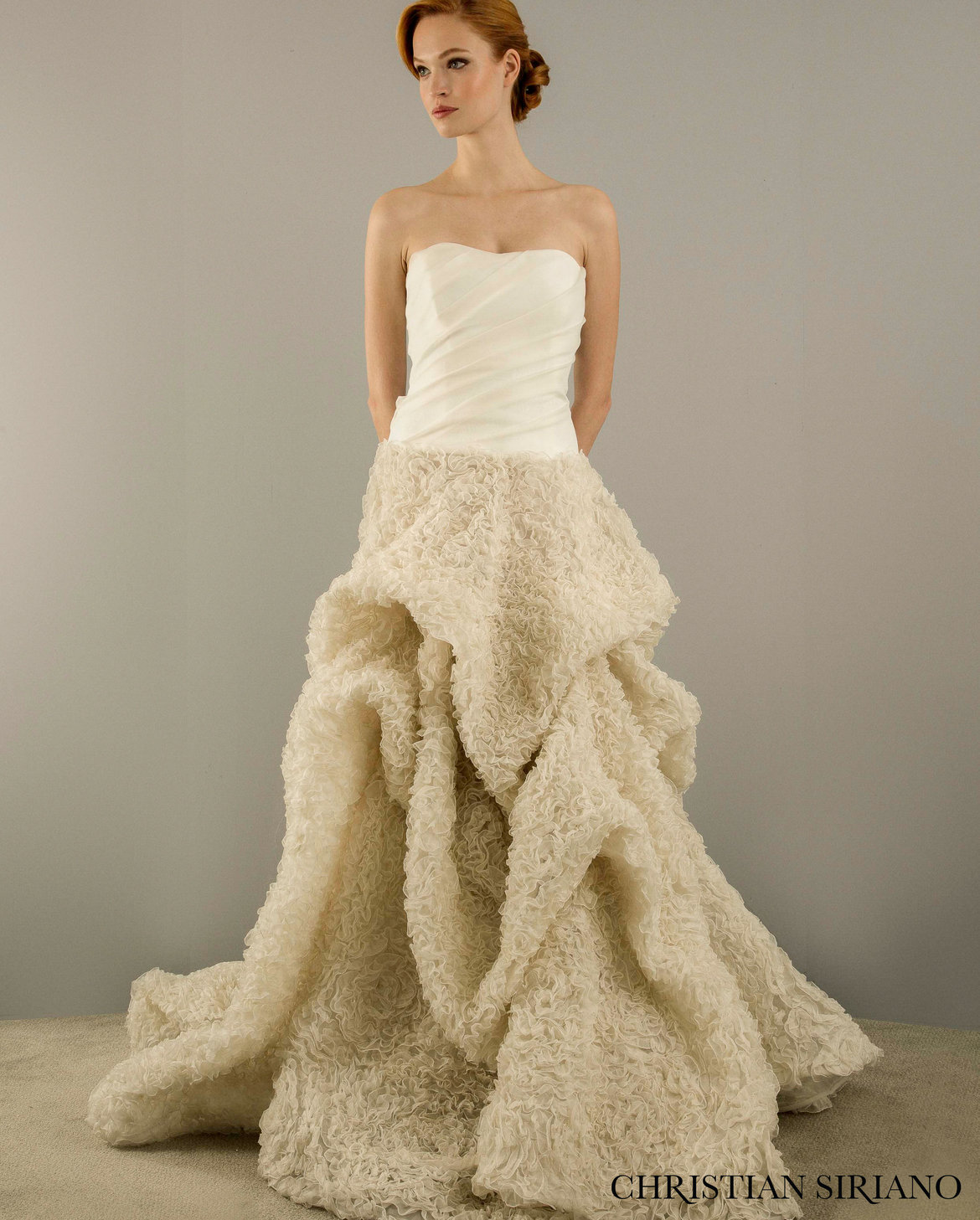 Siriano Wedding Dress At Kleinfeld