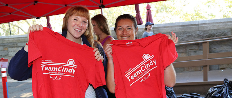 teamcindy 5k run for research