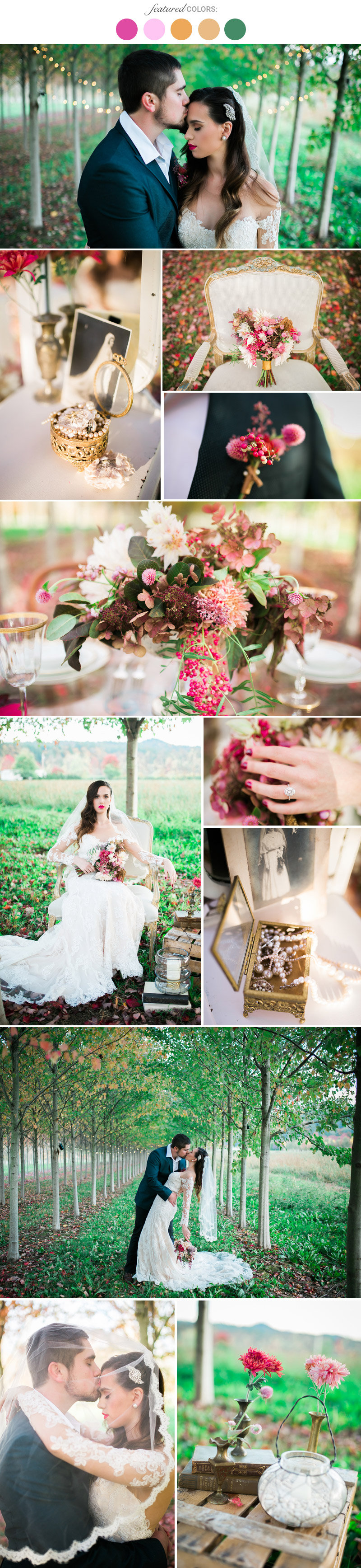 Fall Wedding Colors 25 Combinations You Ll Love Page 8