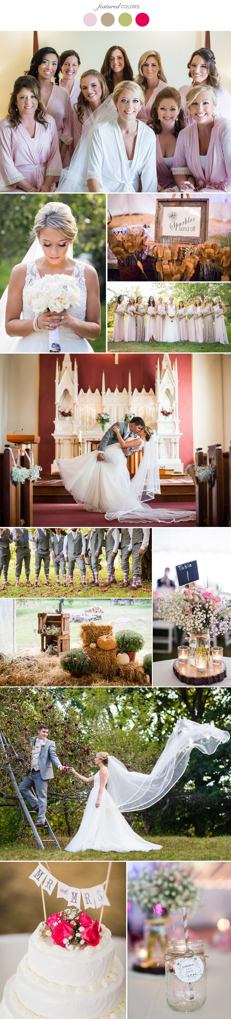 Fall Wedding Colors 25 Combinations You Ll Love Page 19
