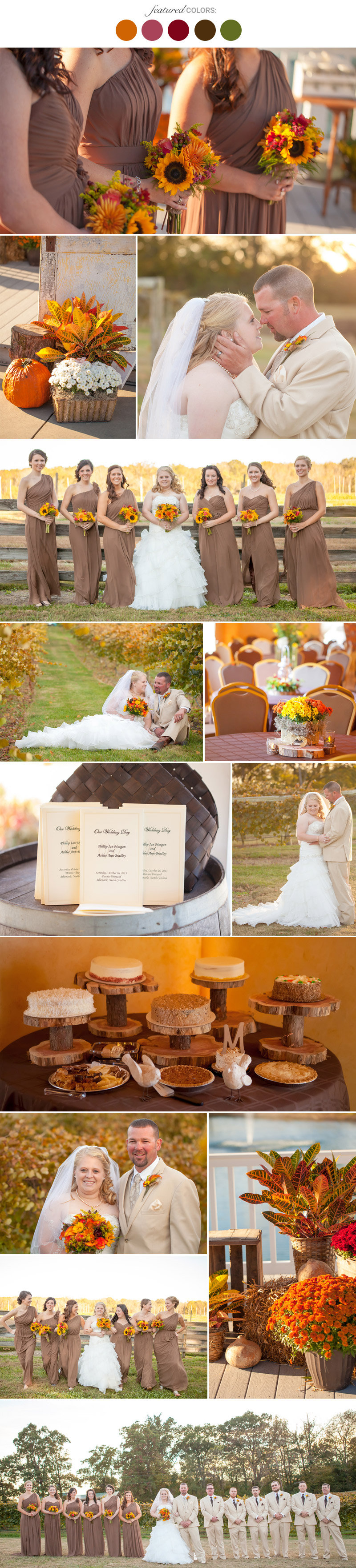 Fall Wedding Colors 25 Combinations Youll Love Page 3