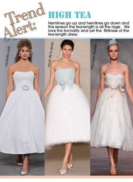 Get Flirty With These Tea Length Gowns