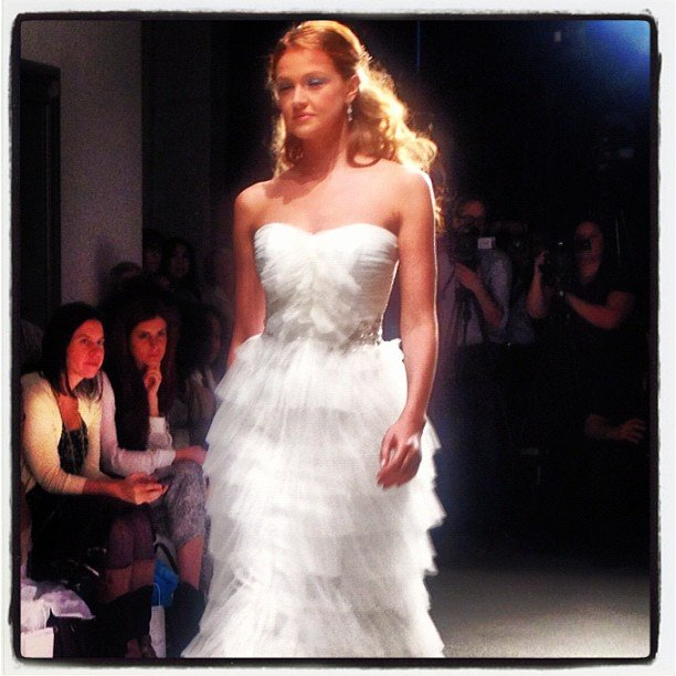 alfred angelo runway show