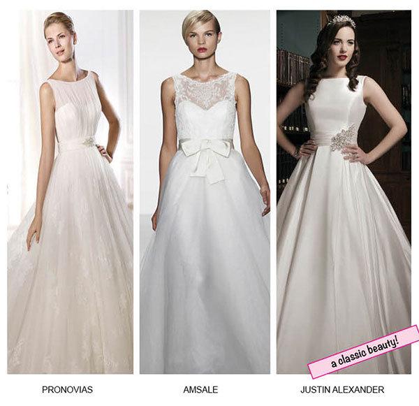 Classic Elegance: Bateau Wedding Dresses | BridalGuide
