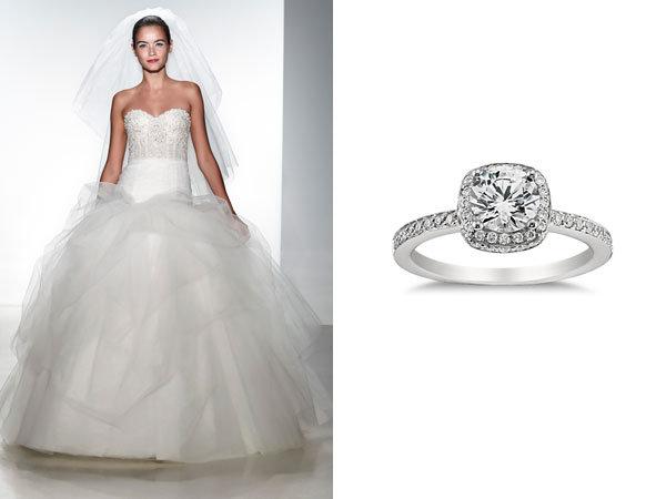 Kenneth Pool Wedding Gown