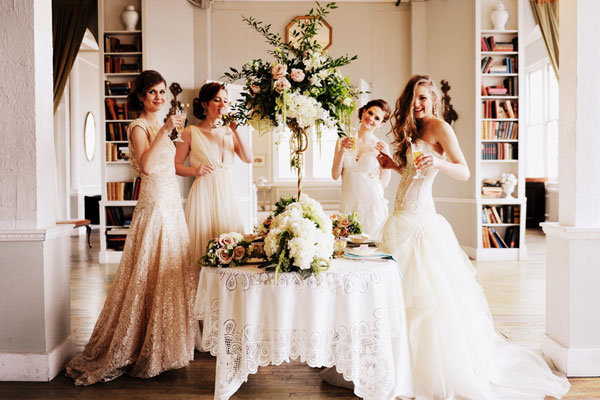 10 things to keep in mind while gown shopping bridalguide for The loft wedding dresses