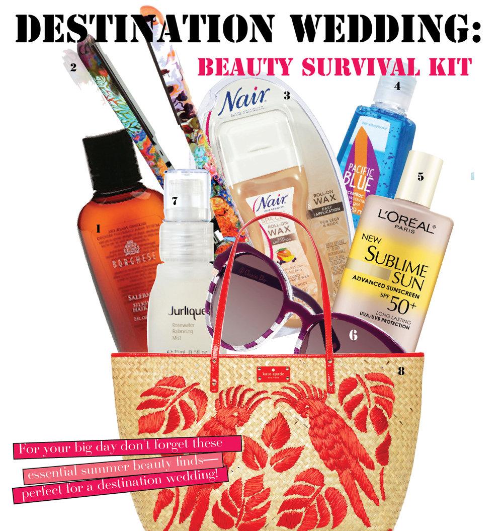 Destination Wedding Makeup Tips : Beauty Must-Haves for a Destination Wedding BridalGuide